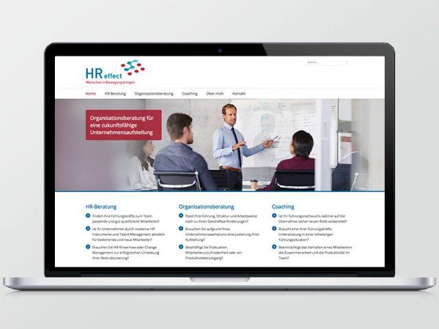 HR effect – Webseite