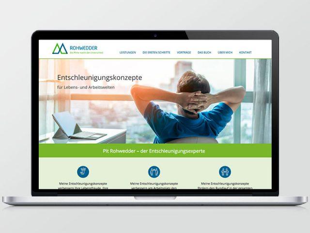 Pit Rohwedder – Webseite