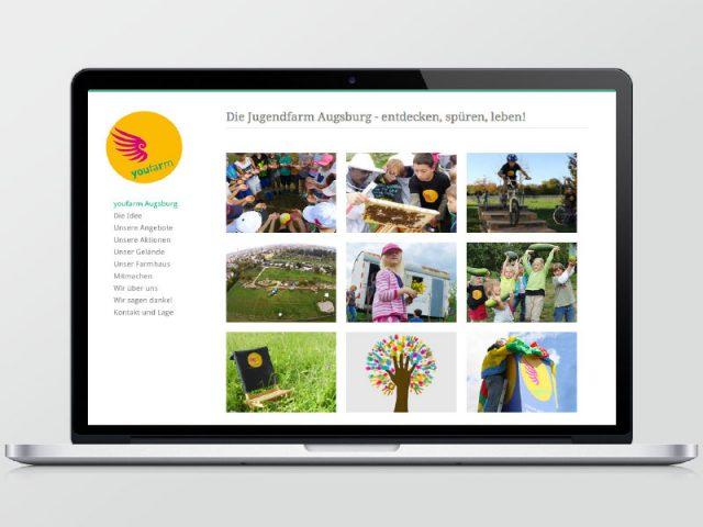 youfarm Webseite